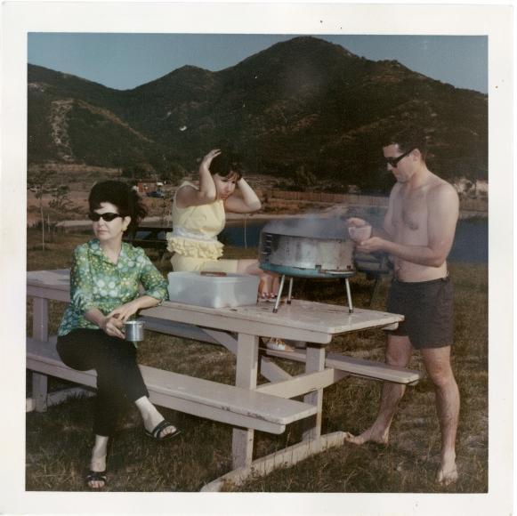 <em>Suburban Picnic,</em> c.1970 / 2014, Project B Collection