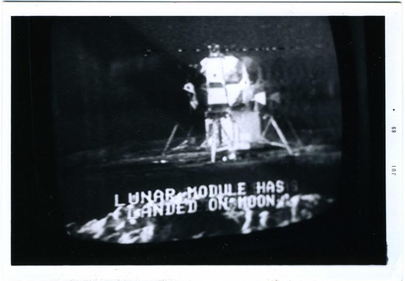 <em>Lunar Landing,</em> 1969 / 2014, Project B Collection